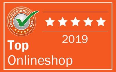 Auszeichnung für Trikotexpress: TOP Onlineshop 2019