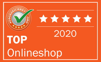 Award: TOP online shop 2020