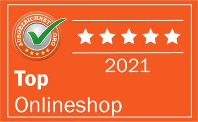 Auszeichnung für Trikotexpress: TOP Onlineshop 2021
