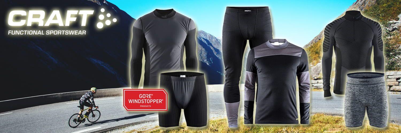 Craft Winter 2018 - technische Radbekleidung & funktionale Unterwäsche