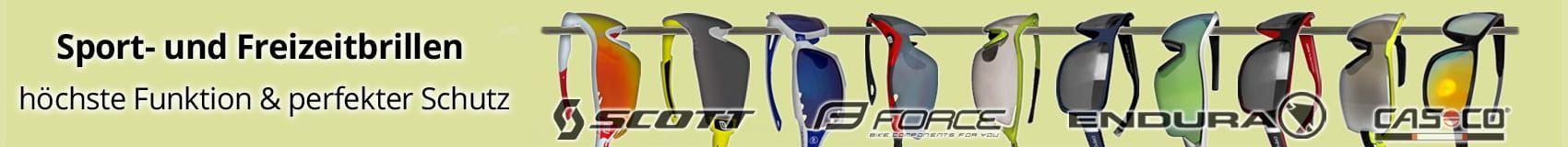 Sport- und Freizeitbrillen bieten höchste Funktionen und perfekten Schutz