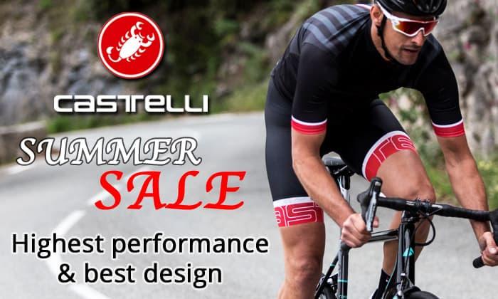 Castelli Summer Sale - Highest performance & best design
