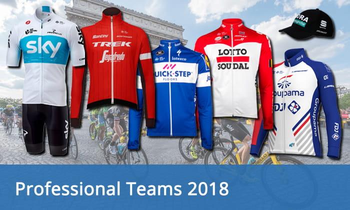 Professional cycling teams 2018