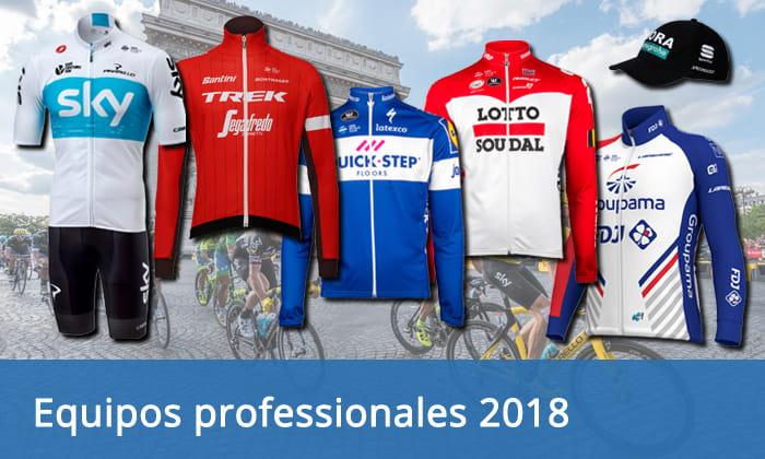 Equipos professionales 2018