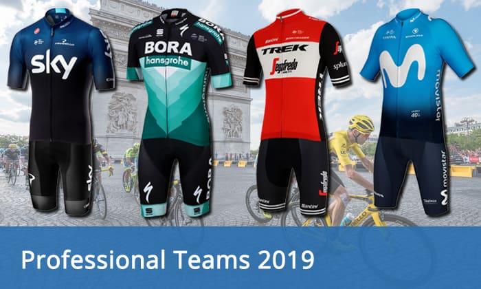 4087aa979 Professional cycling teams 2019