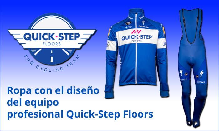 Ropa de ciclismo de Quick-Step Floors
