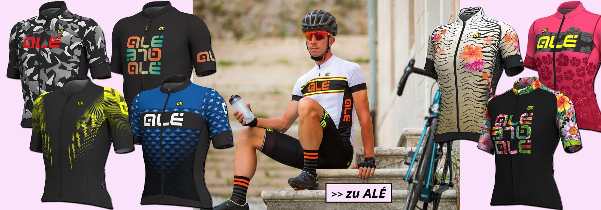 Ale 2019 - diese Radsportbekleidung vermittelt Vitalität und Lebensfreude