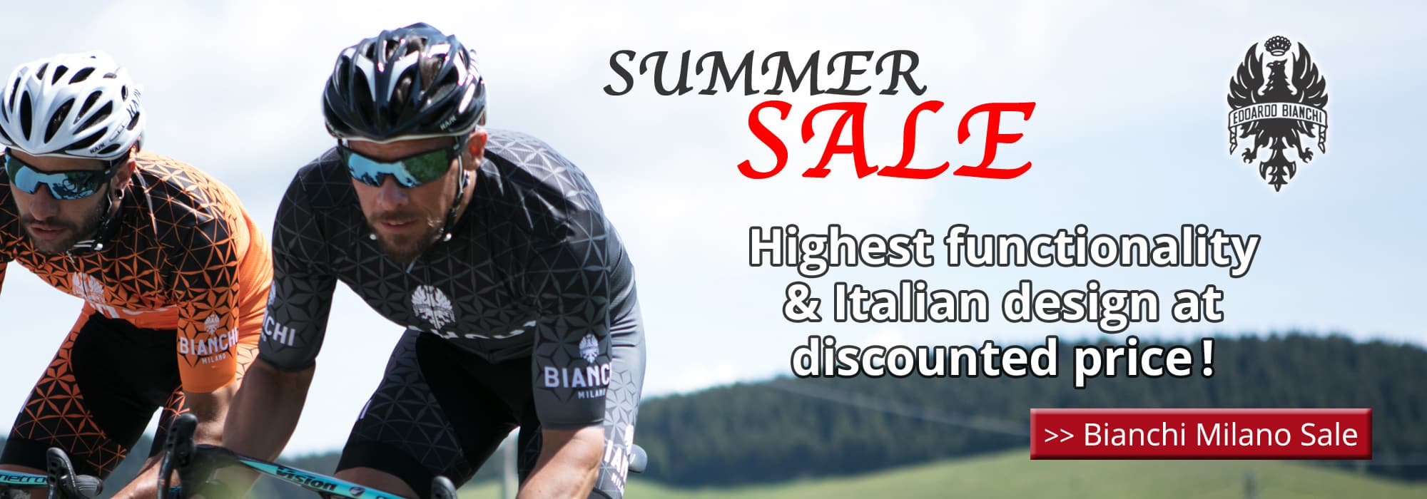 Bianchi Milano Summer Sale - Highest functionality & Italian design at discounted price