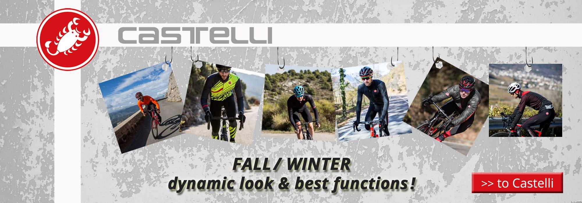 Fall/winter Castelli 2018 -  dynamic look & best functions