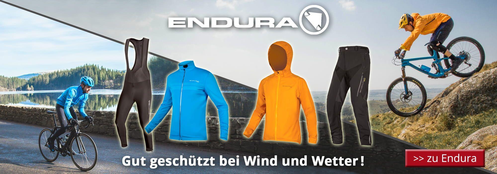 Herbst/ Winter 2018 Endura - Gut geschützt bei Wind und Wetter!