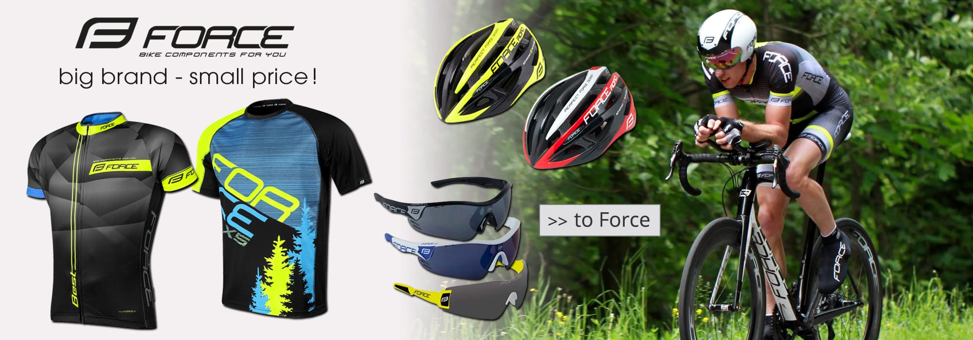Force cycling wear & accessories