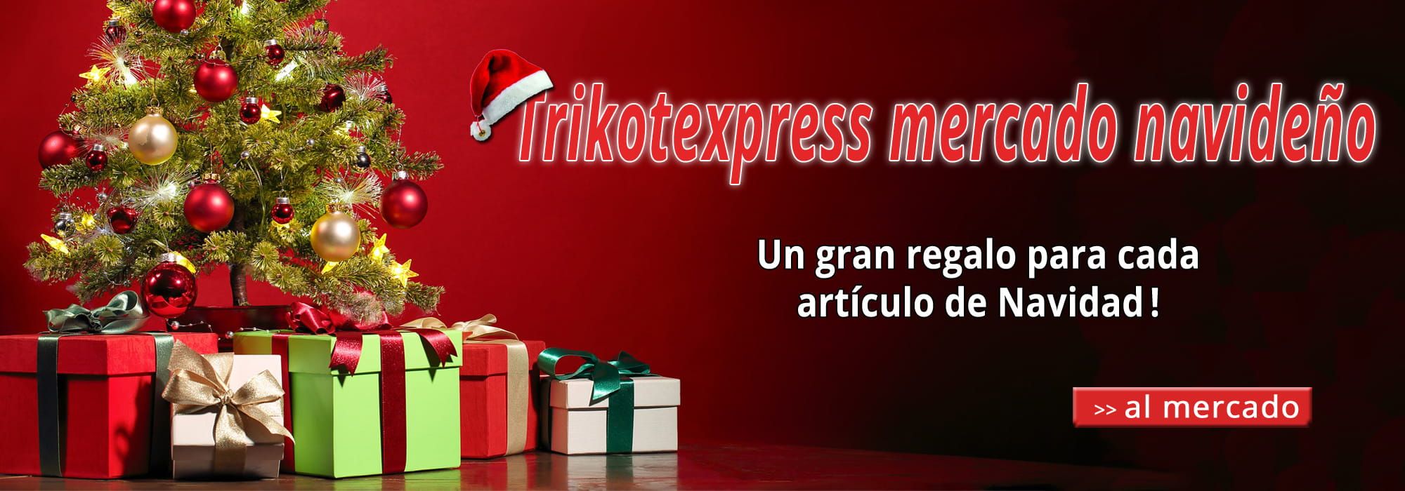 Trikotexpress mercado navideño