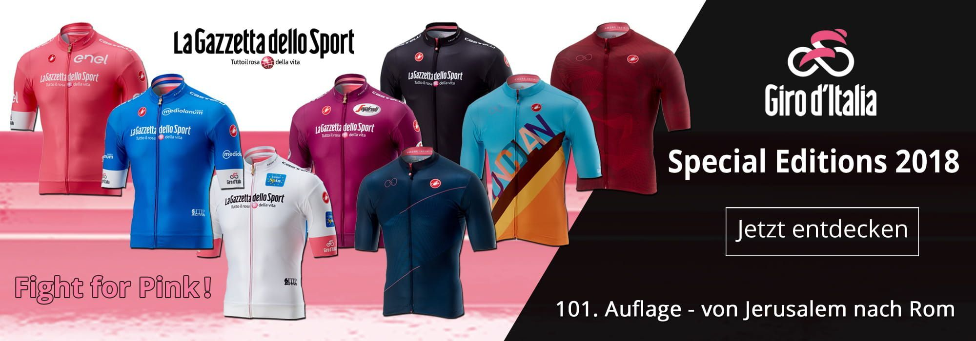 Limitierte Giro d'Italia 2018 Special Editions
