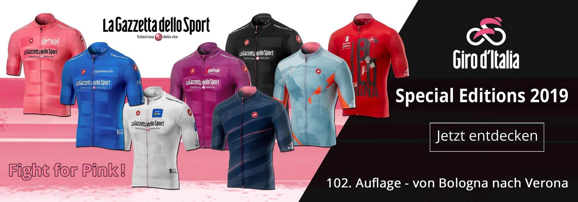 Limitierte Giro d'Italia 2019 Special Editions