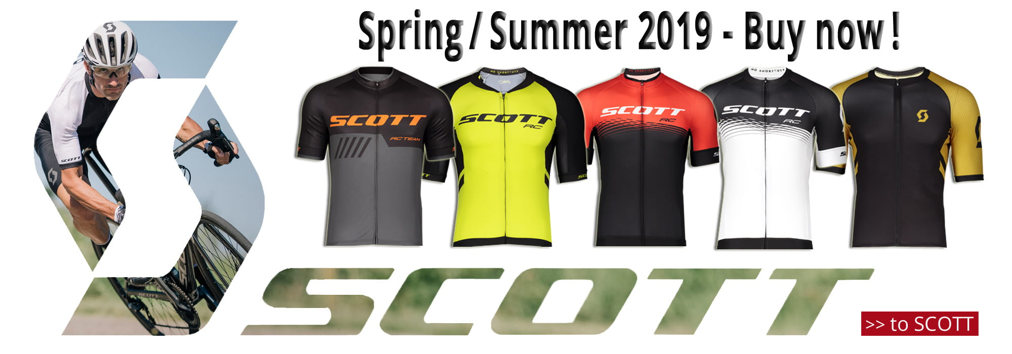 Scott spring / summer 2019 - now available