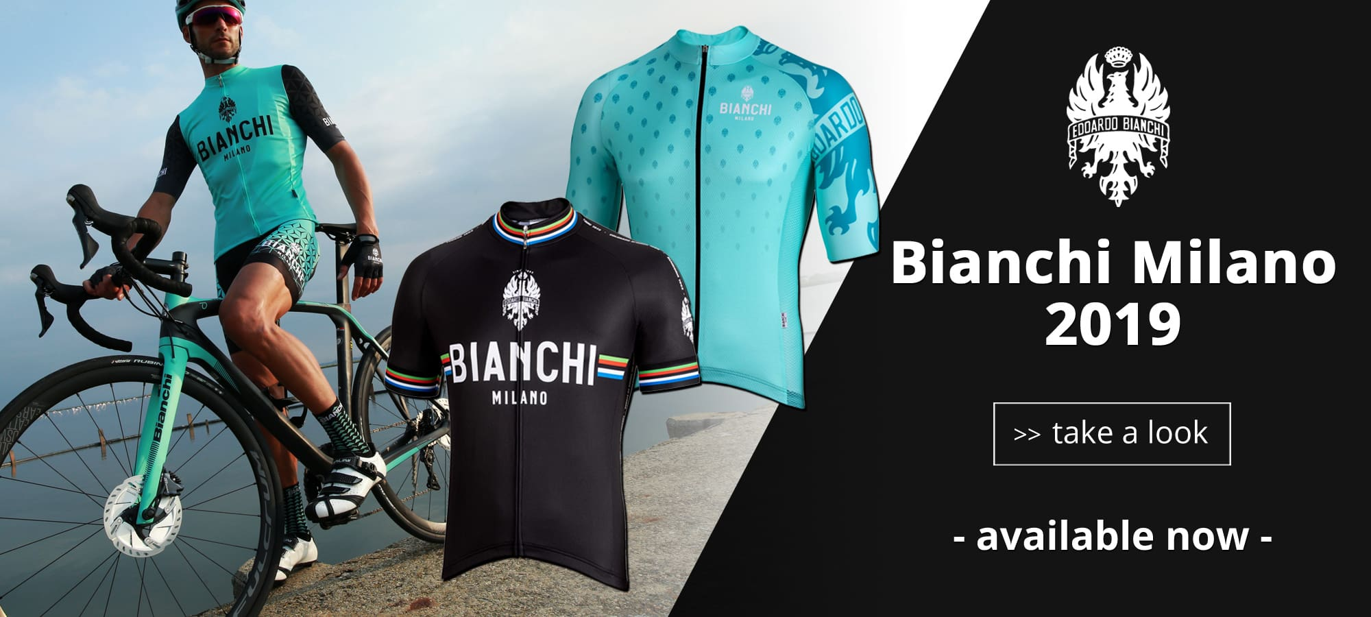 Bianchi Milano spring / summer 2019 available now