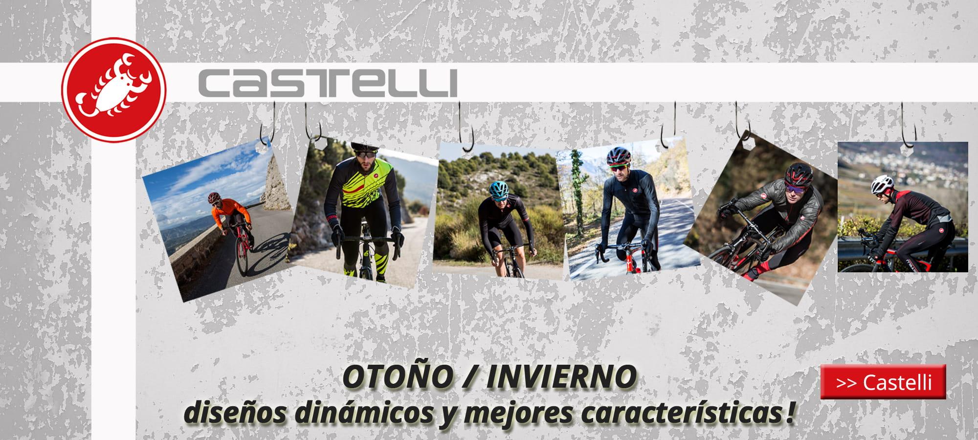 Otoño/invierno Castelli 2018 - diseños dinámicos y mejores características