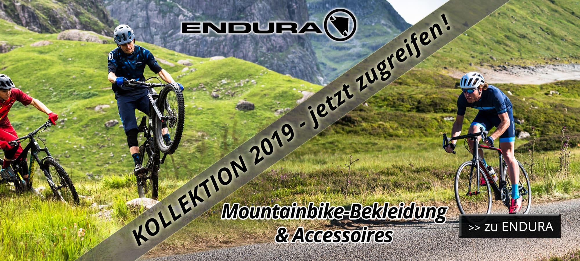 Endura 2019 MTB-Bekleidung & Accessoires