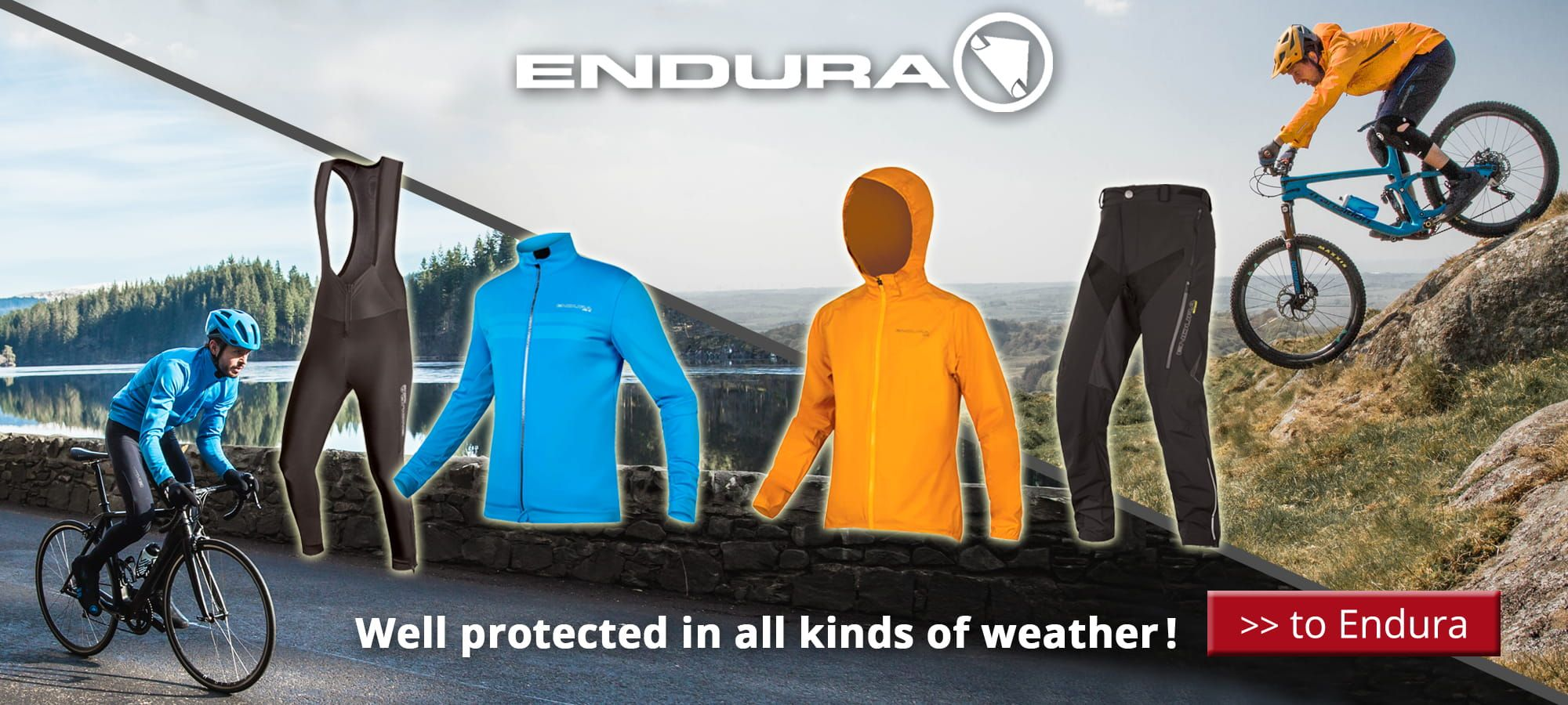 fall/winter Endura 2018 - Well protected in all kinds of weather !