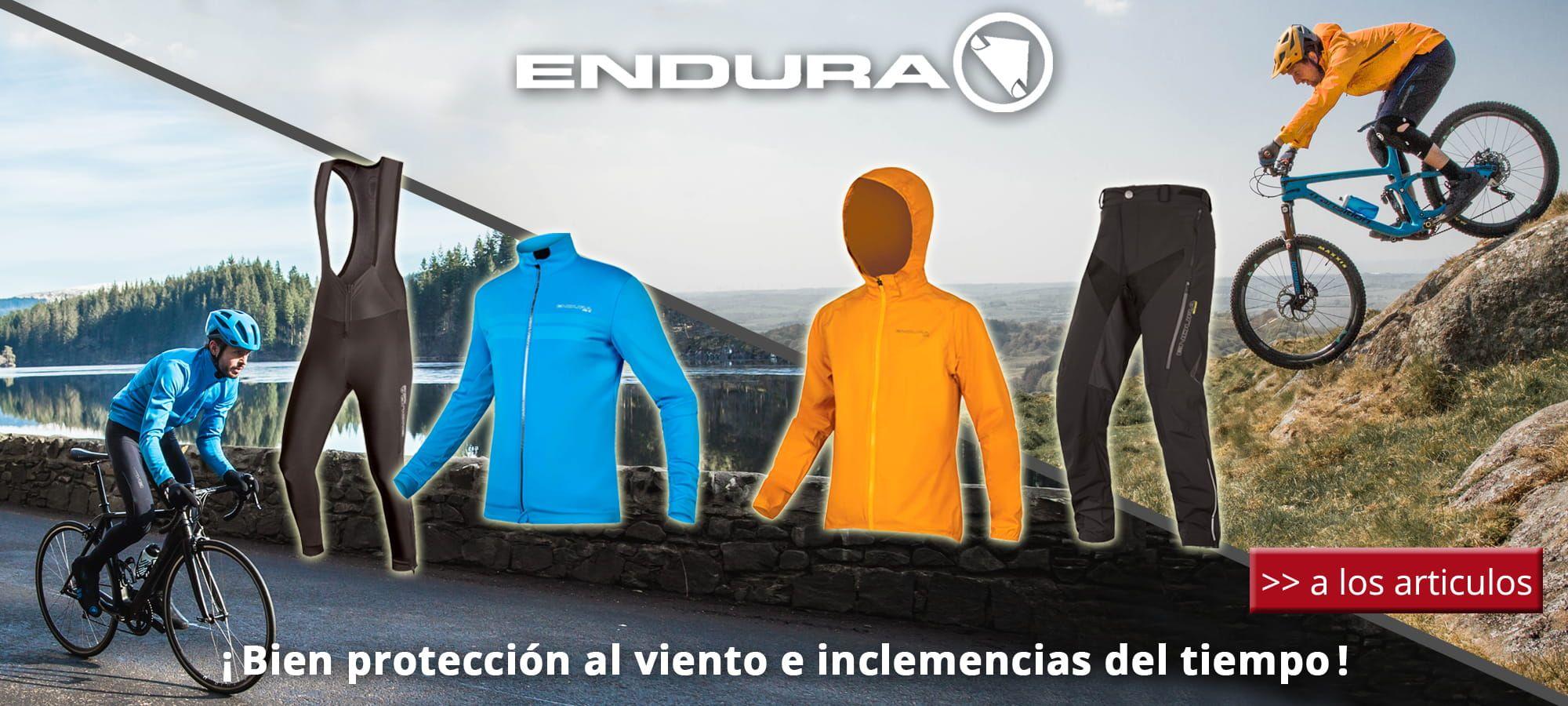 Otoño / invierno Endura 2018 - ¡ Bien protección al viento e inclemencias del tiempo !