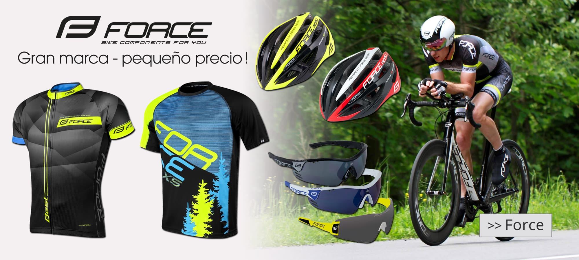 Force ropa ciclista & Accesorios