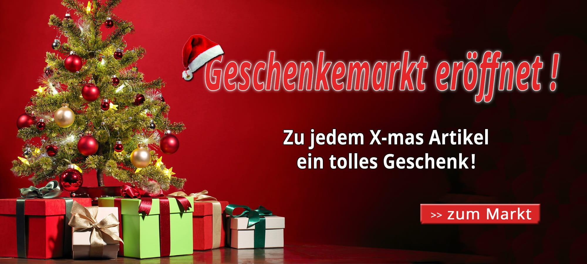 Trikotexpress Weihnachtsmarkt mit Geschenk zu jedem Produkt