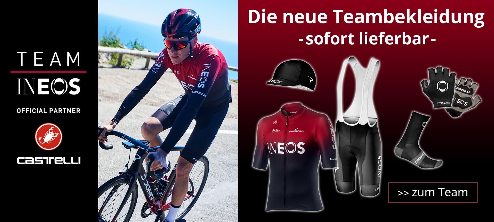 Team Ineos - die Teambekleidung 2019