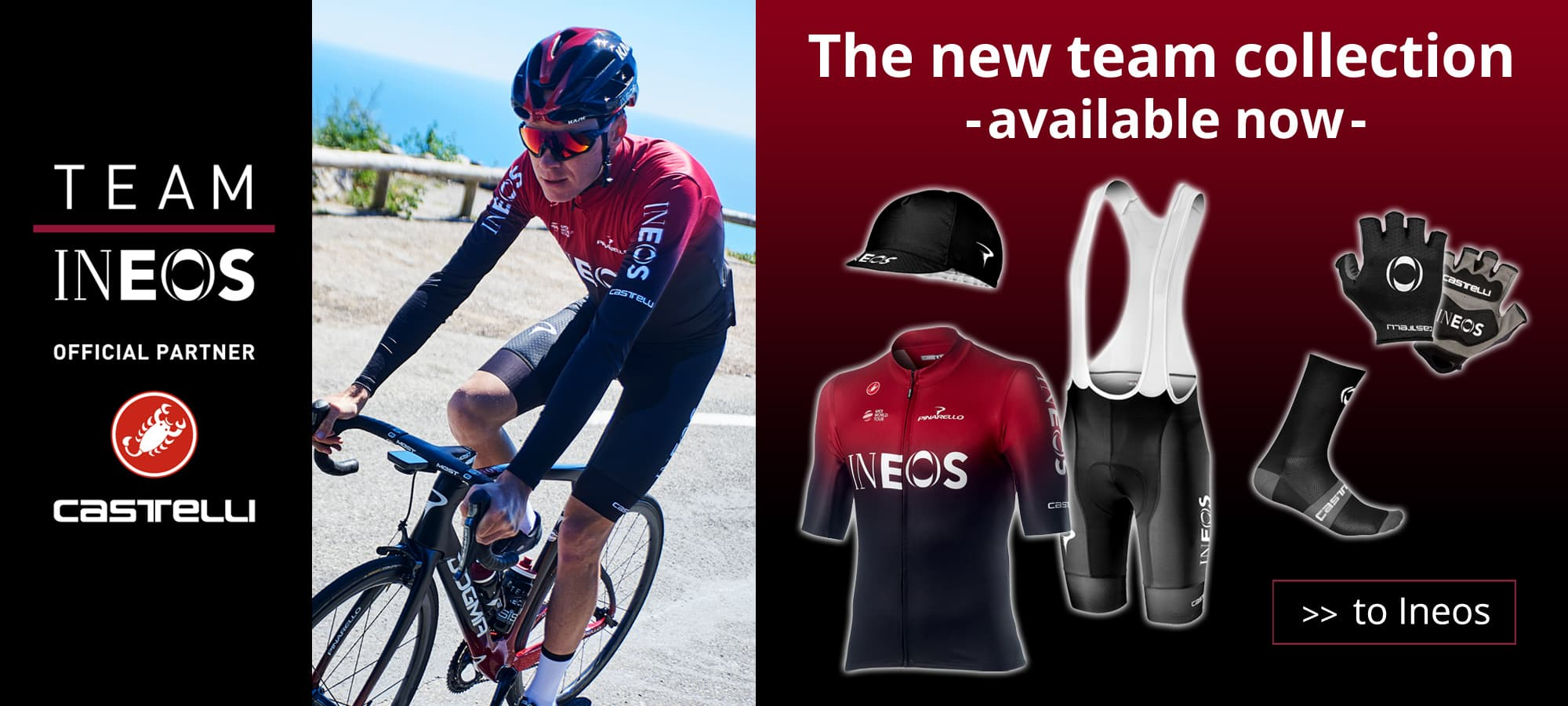 Team Ineos - the team collection 2019