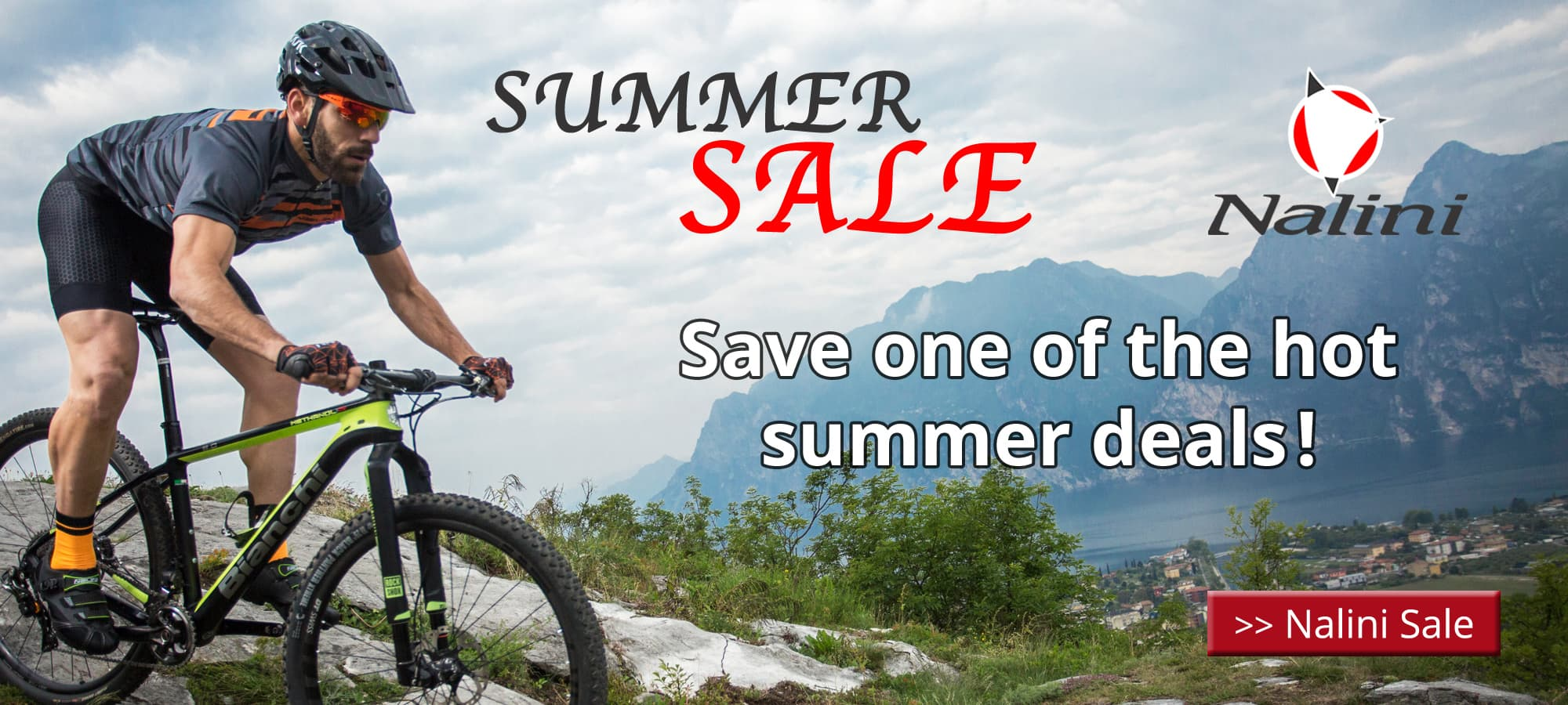 Nalini Summer Sale - save one of the hot summer deals of the brand Nalini