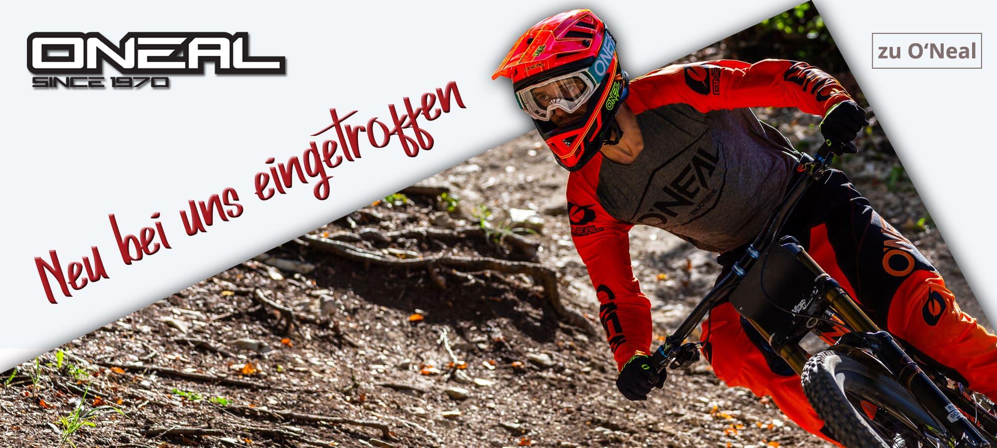 O'Neal - Mountainbike Bekleidung, MTB-Radhelme, Protektoren und Zubehör