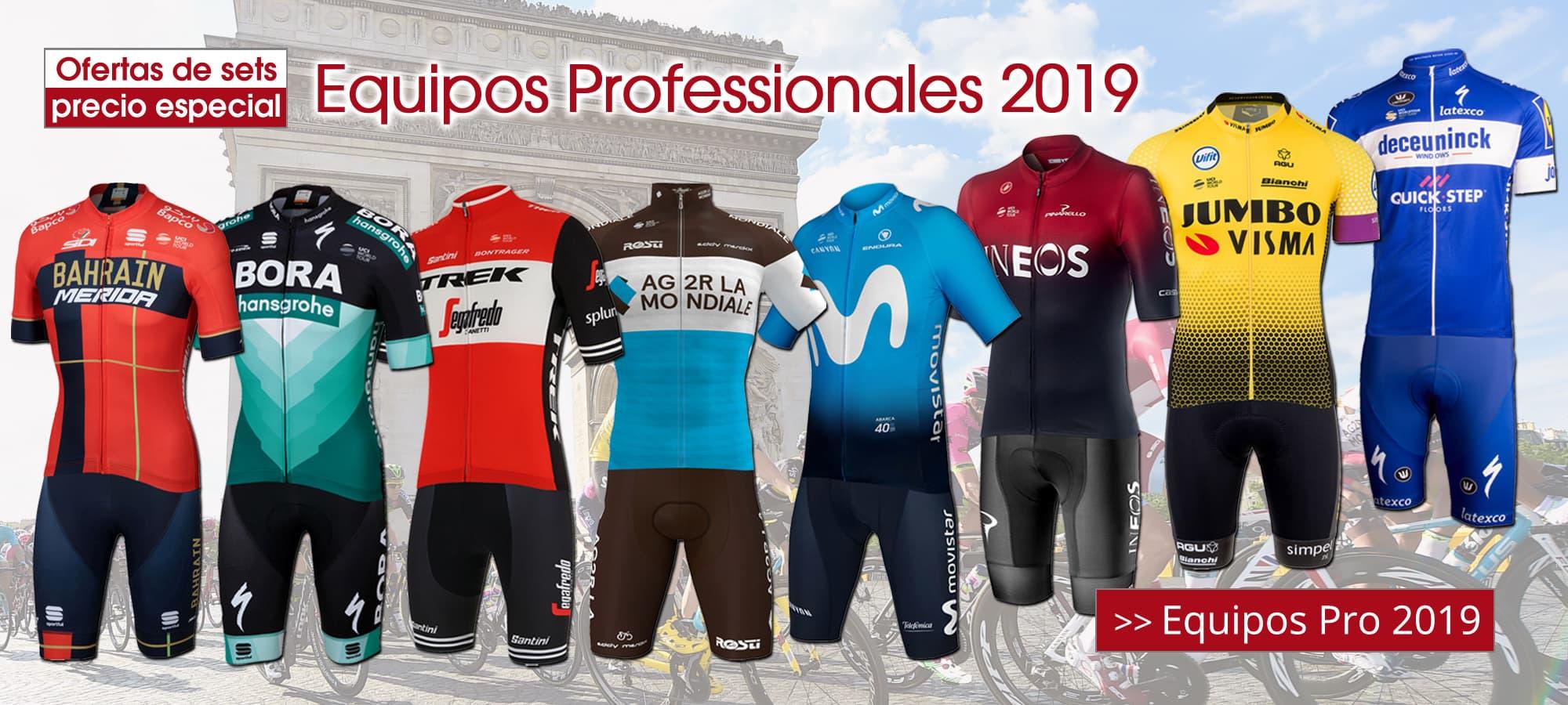 Equipos Pro 2019