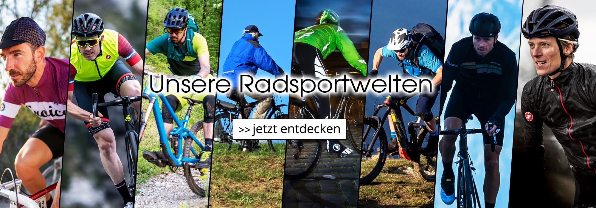 Radsportwelten - Hier finden Sie schnell das passende Produkt