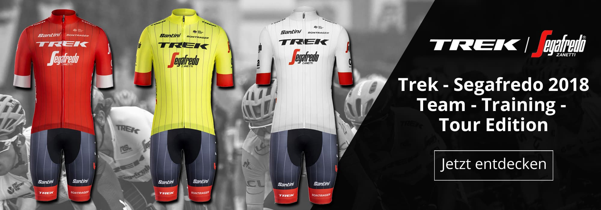 Trek - Segafredo Team, Training und Tour Edition