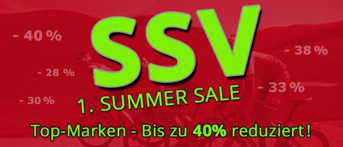 Erster Sommerschlussverkauf - Top Marken zu Top Preisen