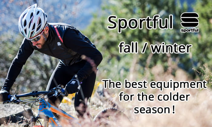 Sportful fall/winter - The best equipment for the colder season