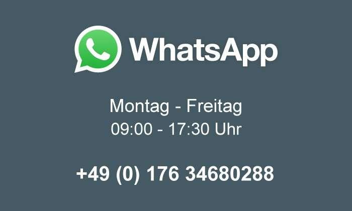 Support via WhatsApp