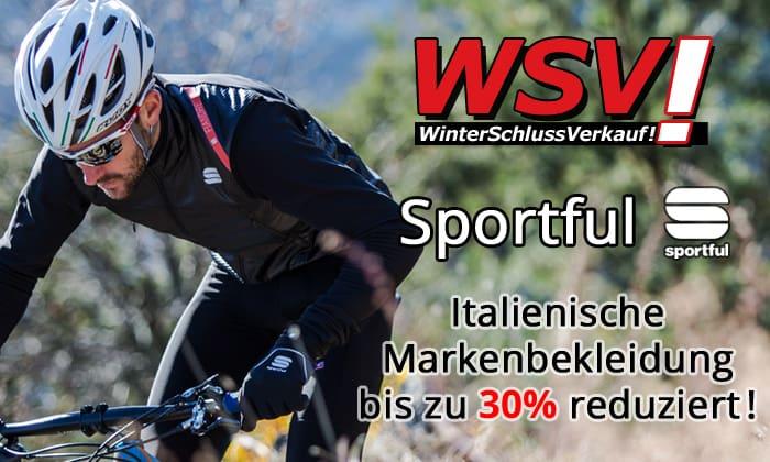 Winterschlussverkauf Sportful Herbst/Winter 2018