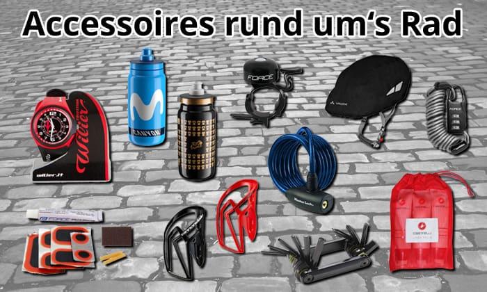Accessoires rund um's Rad