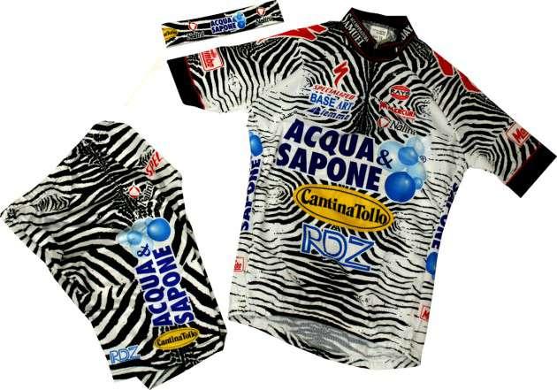 NALINI Acqua   Sapone 2002 professional cycling team - cycling set for kids  (tricot 5d4ee20b7