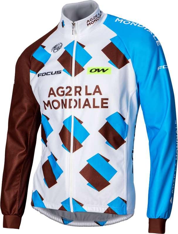 AG2R LA MONDIALE 2016 winter jacket - professional cycling team. Previous dfaca76aa