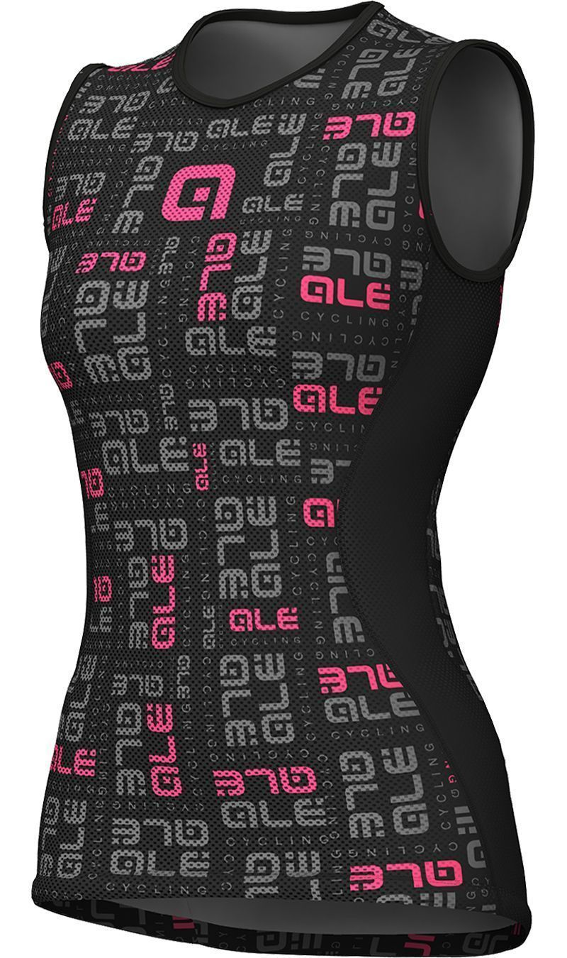 gran venta de liquidación disfruta del envío gratis los recién llegados Camiseta interior ciclismo sin mangas mujer VELO ACTIVE (negro) - ALE