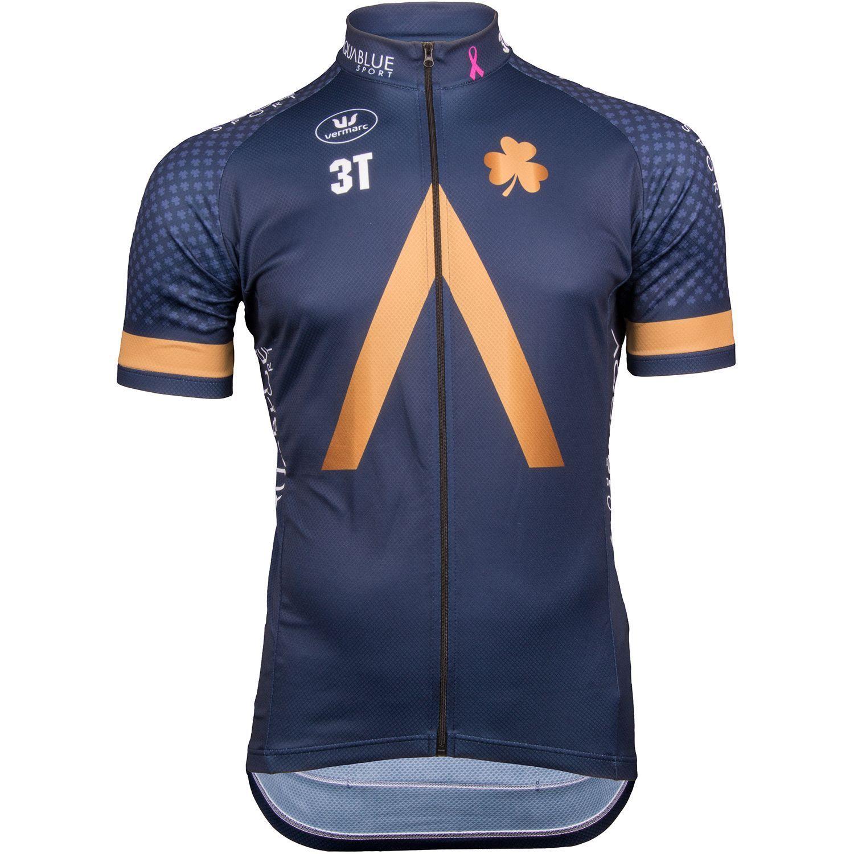 e33537e1d Previous. AquaBlue Sport 2018 short sleeve jersey (long zip) - Vermarc  professional ...