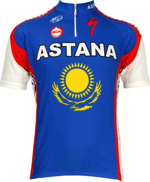 Astana Slovenian champ 2010 Nalini professional cycling team - cycling  jersey with short zip. Previous 7c812e4c2
