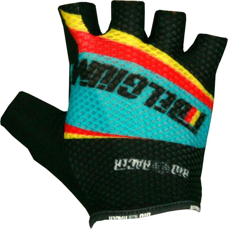 46b3f51b3 BIORACER BELGIUM 2016 short finger gloves (mesh) - national cycling team
