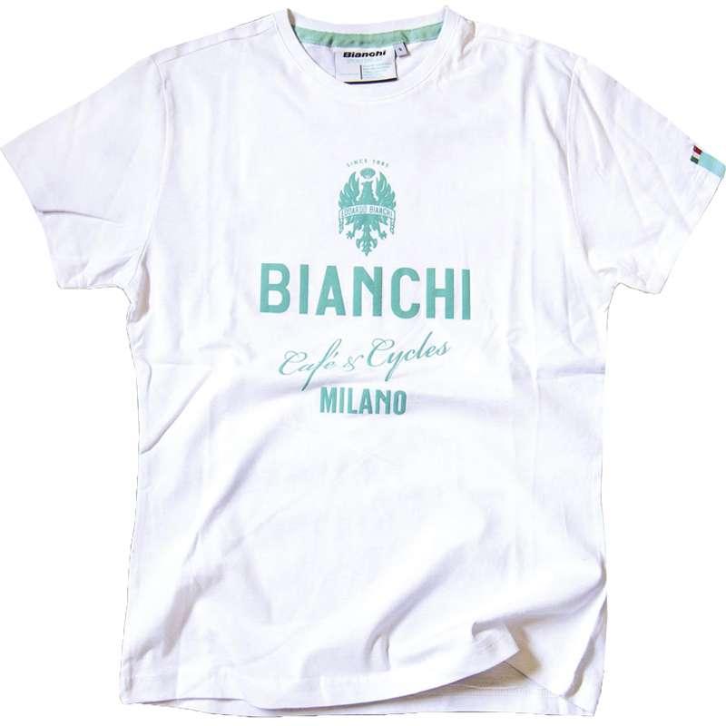 d014c52cde683a BIANCHI CAFE   CYCLES Shirt weiß