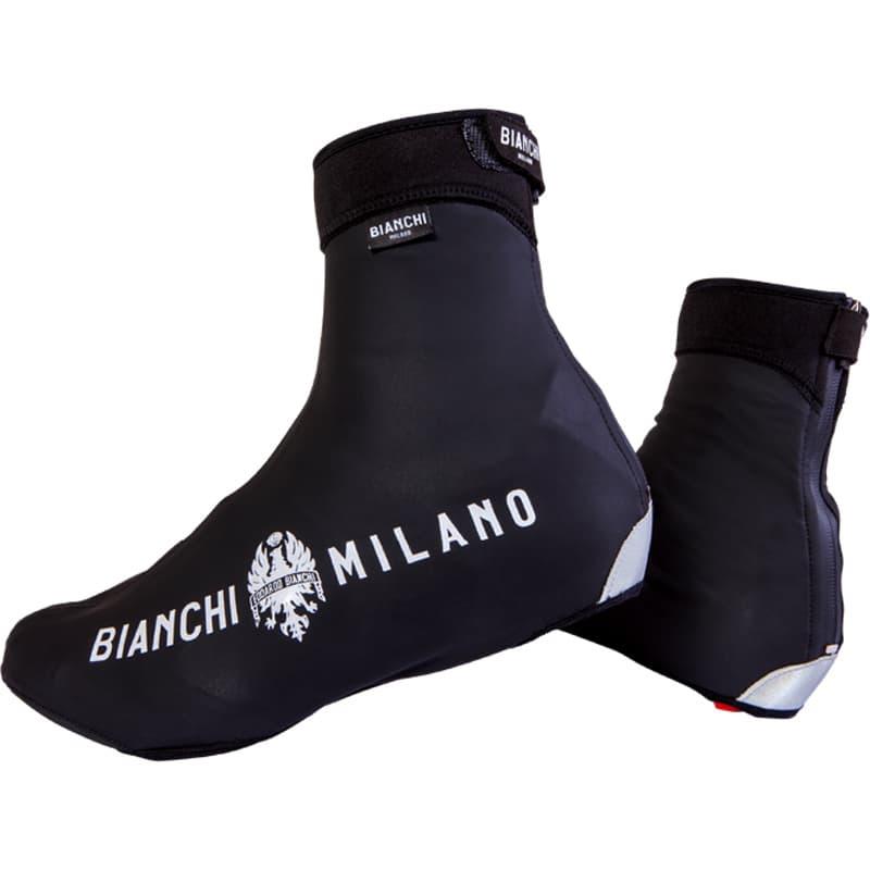 Bianchi Milano VADENA Full Season Fahrrad 'berschuhe schwarz (I19-4000) - L (41-42 / 7.5-8.5)