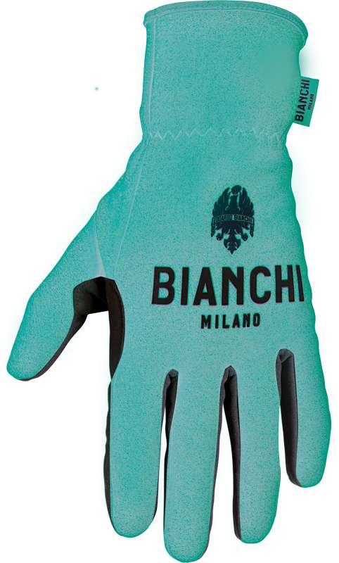 00726dcea BIANCHI MILANO OSIO cycling winter gloves celeste (I18-4300)
