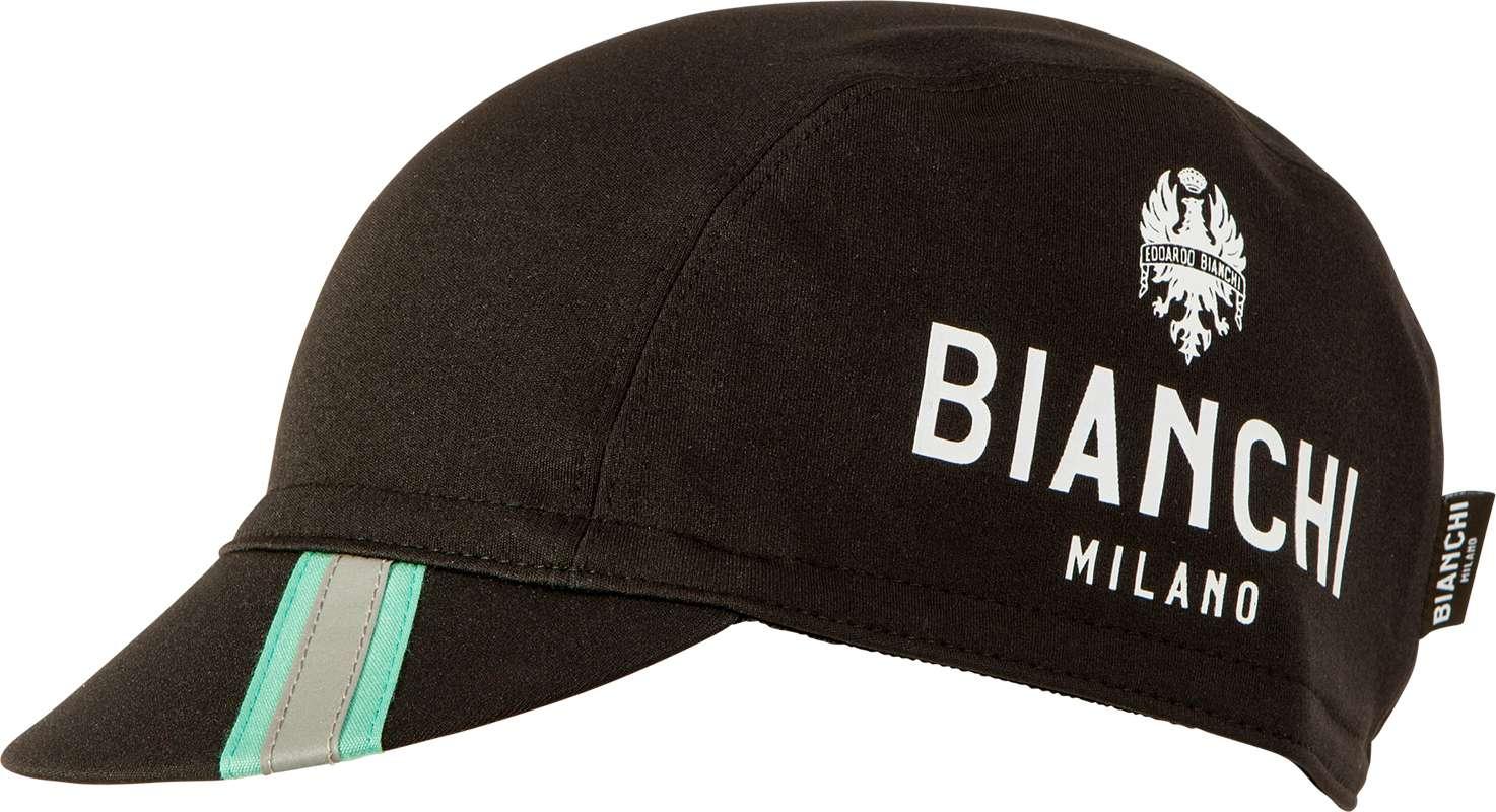 3a2f1346f BIANCHI MILANO PRESEZZO winter cap with visor black (I17-4000)