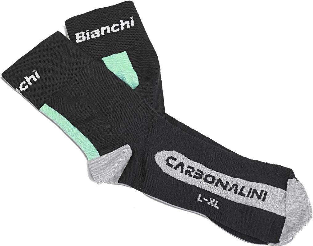 BIANCHI REPARTO CORSE Black CARBON SOCKS  by Nalini