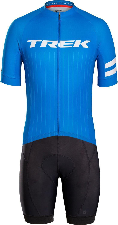 Bontrager CIRCUIT LTD cycling set (short sleeve jersey + bibshort) blue.  Previous 04cb53f52